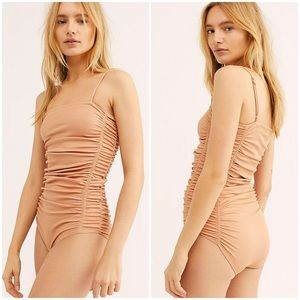 nwt // free people on your side bodysuit